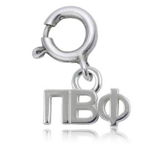Pi Beta Phi Sterling Silver Charm