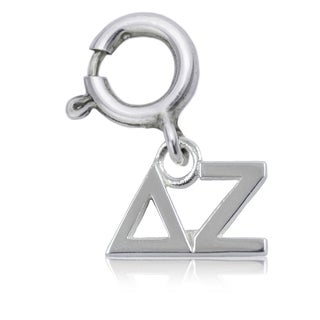 Delta Zeta Sterling Silver Charm
