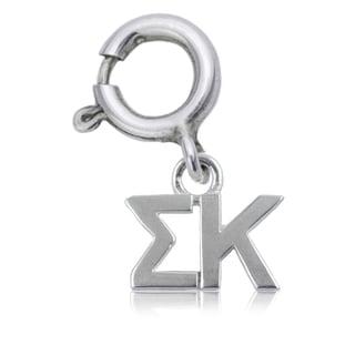 Sigma Kappa Sterling Silver Charm