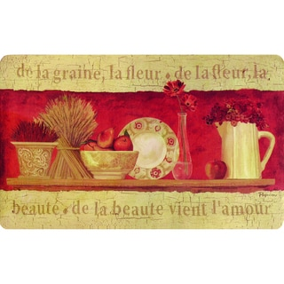 Shop Indoor De La Graine Kitchen Mat Multi 1 6 X 2 6