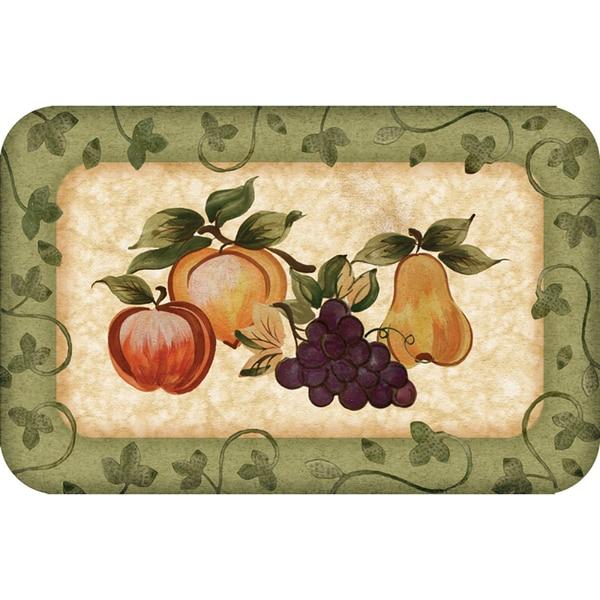Shop Indoor Fruit Platter Kitchen Mat 18x30 Free