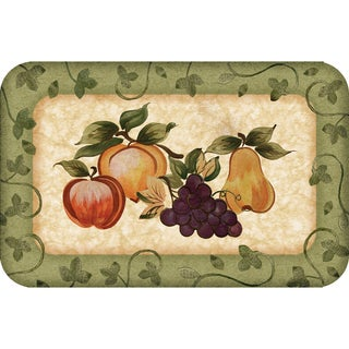 Indoor Fruit Platter Kitchen Mat (18x30)