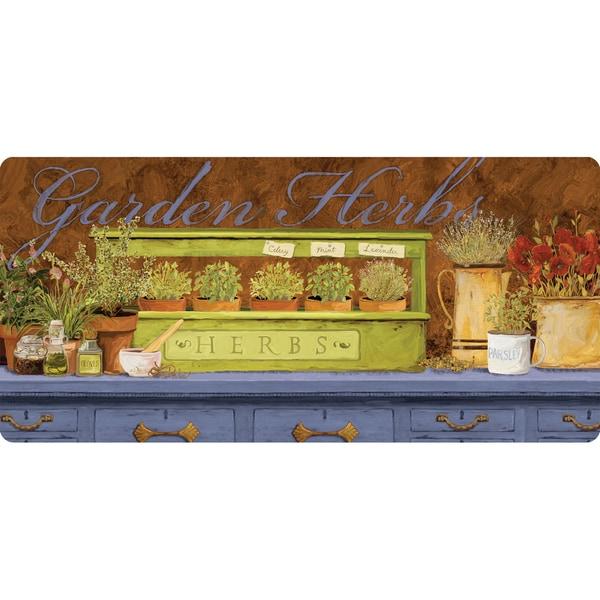 indoor garden herb kitchen mat 20x42 free shipping on