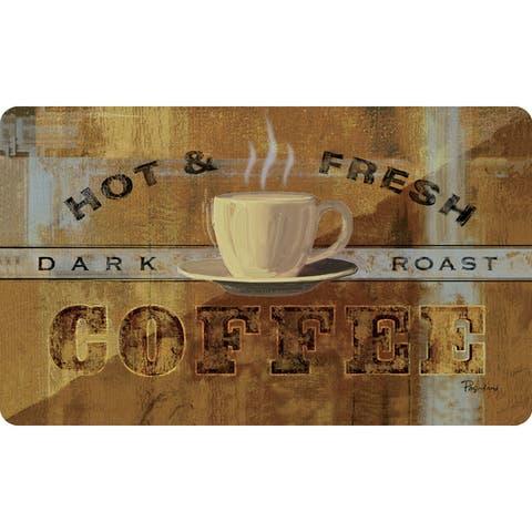 """Indoor Hot & Fresh Kitchen Mat (18x30) - Brown - 1'6"""" x 2'6"""""""