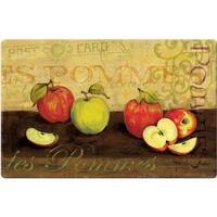 Indoor Les Pommes Apples Kitchen Mat (18x30)