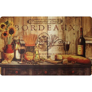 Indoor Olive Oil Sideboard Kitchen Mat (22x34)