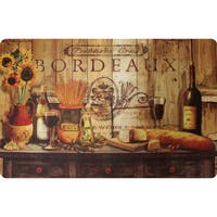 Indoor Olive Oil Sideboard Kitchen Mat (22x34)