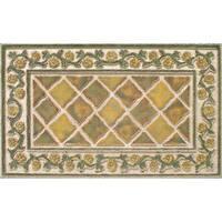 Indoor Tiles Sisal Doormat (18x30) - 18 x 30