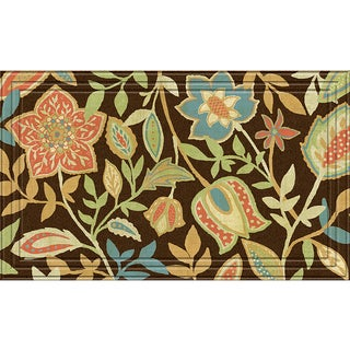 Indoor/Outdoor Nepal Chocolate Doormat (18x30)