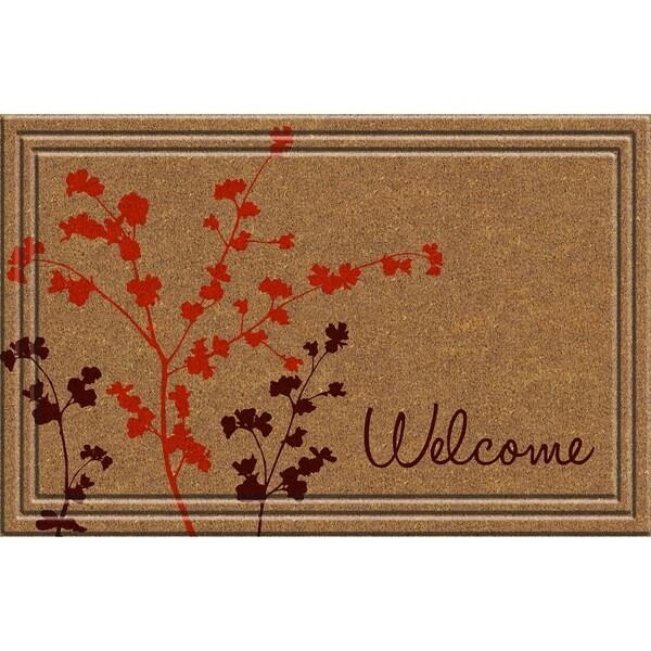 Indoor/Outdoor Simple Welcome Doormat (18x30)