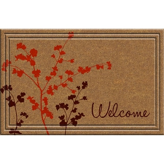 Indoor/Outdoor Simple Welcome Doormat (18x30)