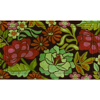 Indoor/Outdoor Lucia's Garden Doormat (18x30)