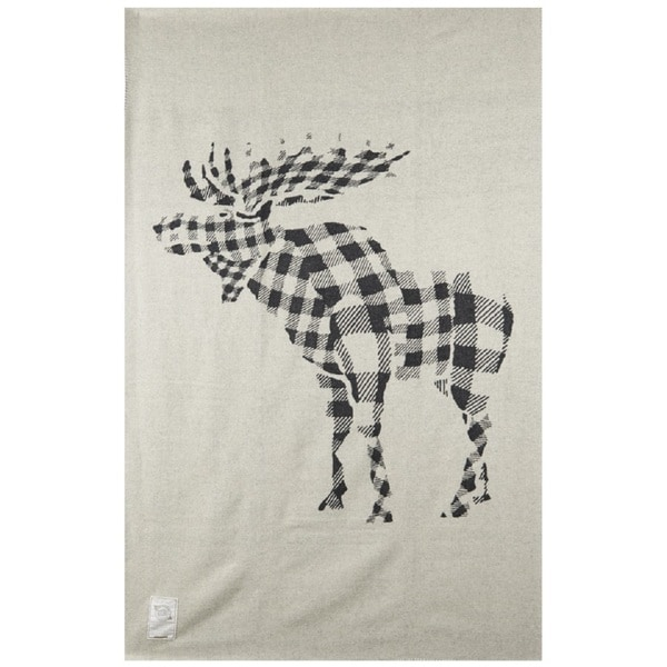 Woolrich Treverton Moose Throw