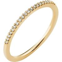 Boston Bay Diamonds 14k Yellow Gold 1/10ct TDW Diamond Stackable Band