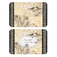 Reversible Grateful Life Placemats (Set of 4)