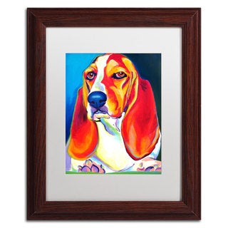 DawgArt 'Maple' White Matte, Wood Framed Wall Art