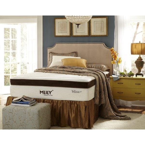 Mlily Bliss 15-inch Full-size Gel Memory Foam Mattress ...