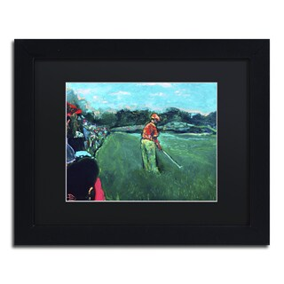 Lowell S.V. Devin 'God's Game' Black Matte, Black Framed Wall Art