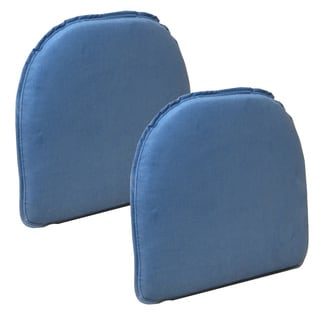 The Gripper Delightfill Chair Cushion Pinwale (Set of 2)
