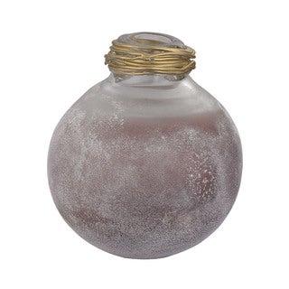 Dimond Home Metal Neck Globe Vase