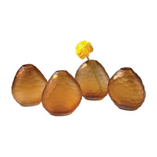 Dimond Home Amber Cut Pebble Vases