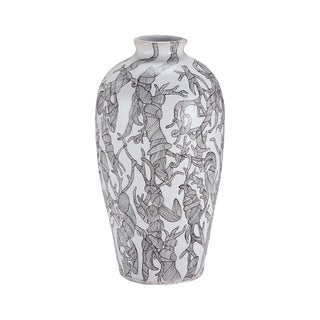 Dimond Home Thicket Hand-painted Vase