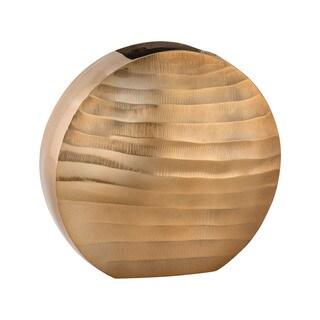 Dimond Home Gold Faux Bois Oval Vase