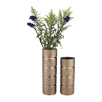 Dimond Home Banded Texture Ceramic Vase