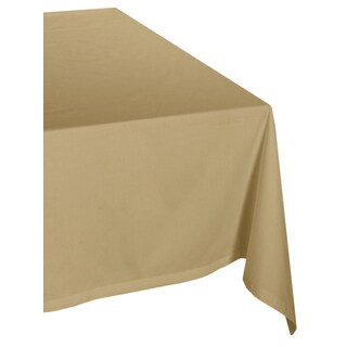 Beige Poly Tablecloth