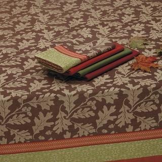 Great Oak Jacquard Tablecloth