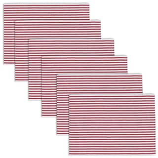 Peppermint Stripe Placemat (Set of 6)