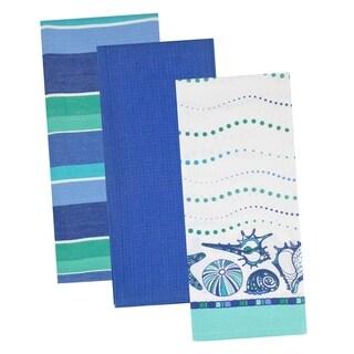 Blue Sea Dishtowel (Set of 3)