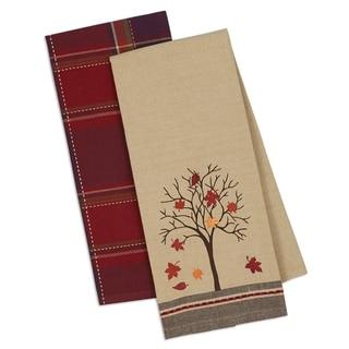 Fall Tree Dishtowel (Set of 2)