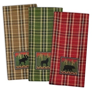 Wilderness Embroidered Dishtowel (Set of 3)