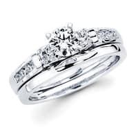 Boston Bay Diamonds 14k White Gold Smooth 2mm Wedding Band