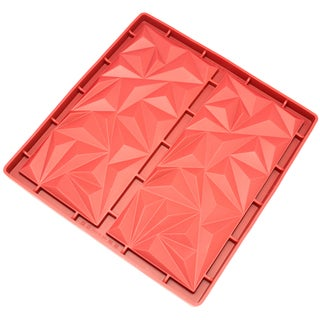 Freshware 2-cavity Diamond Silicone Mold