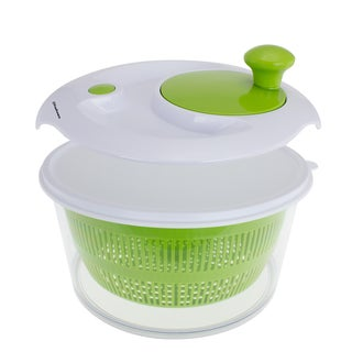 Freshware Salad Spinner with Storage Lid (Option: Green)