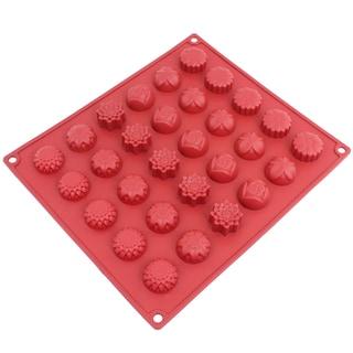 Freshware 30-cavity Silicone Flower Mold