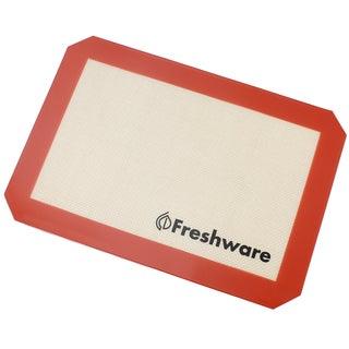 Freshware Silicone Quarter-size Non-Stick Baking Mat