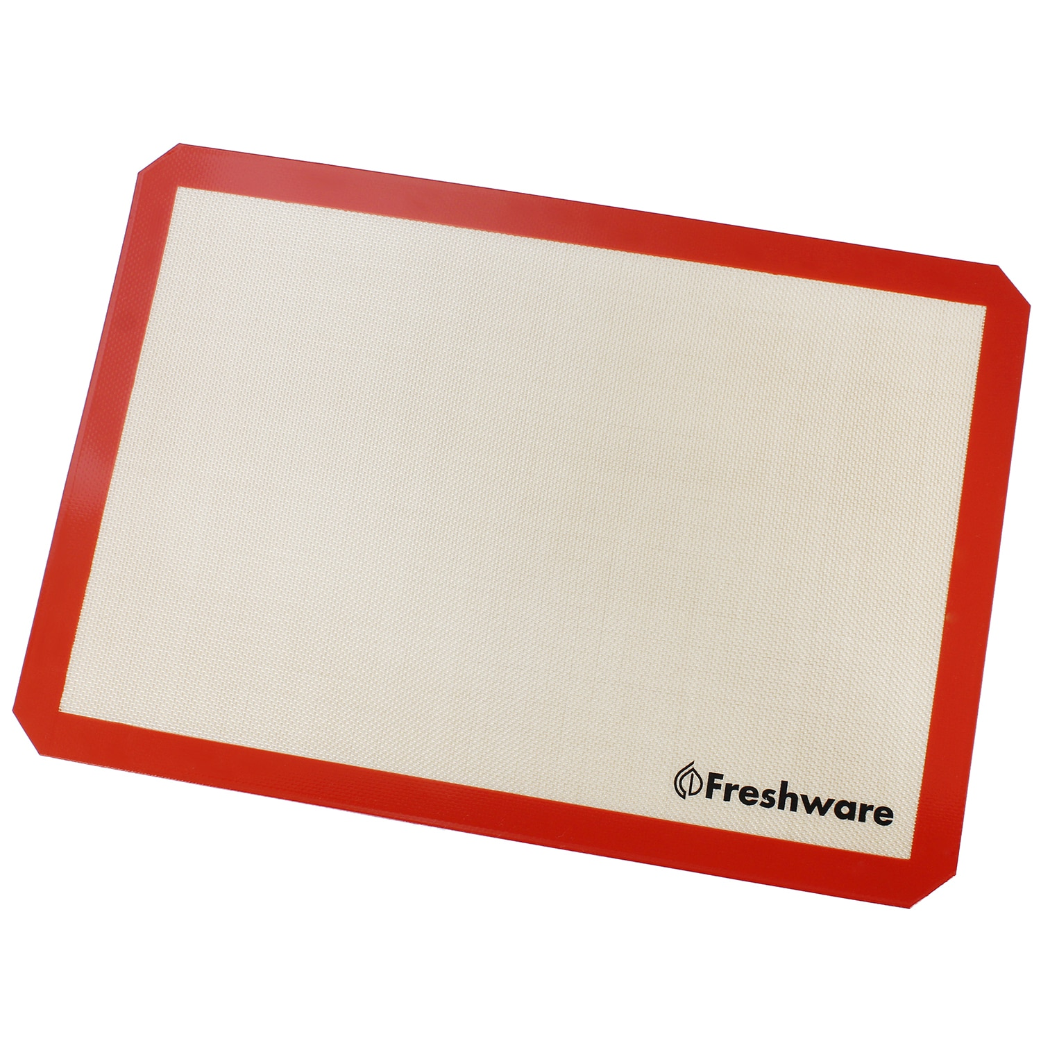 Freshware Silicone Big Non-Stick Baking Mat (Red, Brown),...
