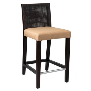 Downey Traditional Brown Polished Barstool