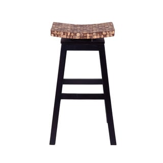 Welland Casual Brown Tan Barstool