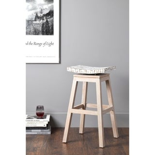 Welland Casual Off-white Barstool