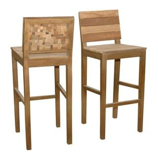 Windsor Contemporary Tan Washed Barstool