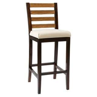 Laval Casual Brown Natural Barstool