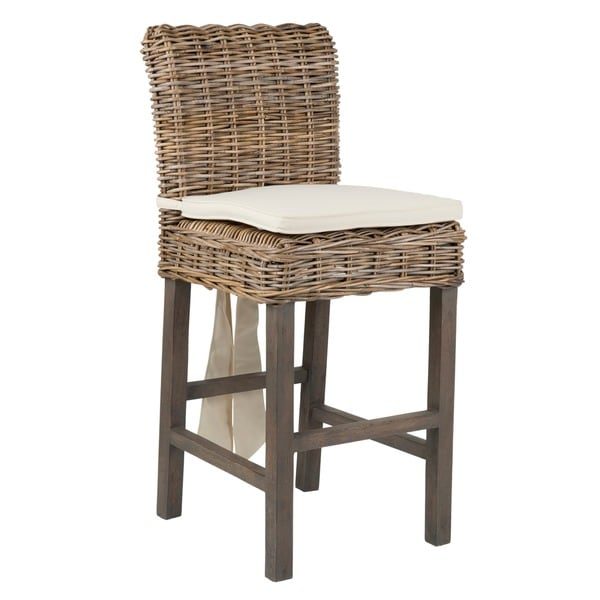 Shop Unity Traditional Grey Natural Counterstool Free