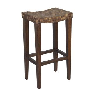 Yoncalla Transitional Brown Barstool