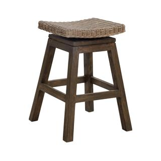 Sammamish Rustic Brown Textured Barstool