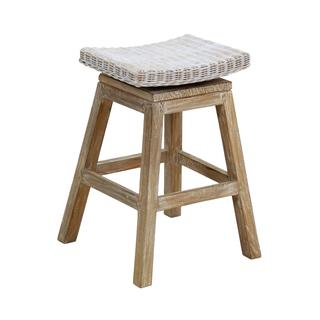 East At Main's Sammamish Rustic Off-white Textured Barstool