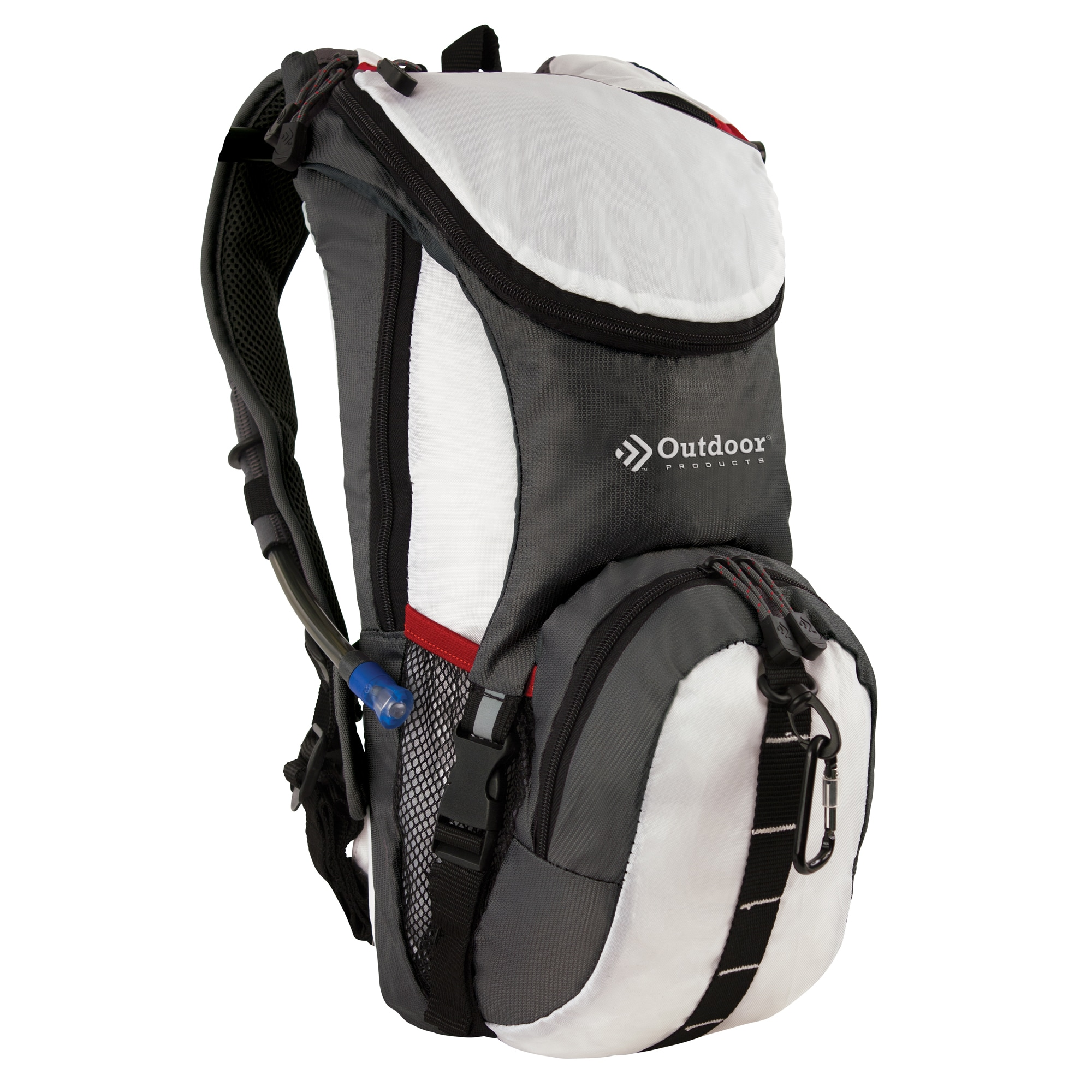 Outdoor Products Ripcord Hydration Pack (Color), White
